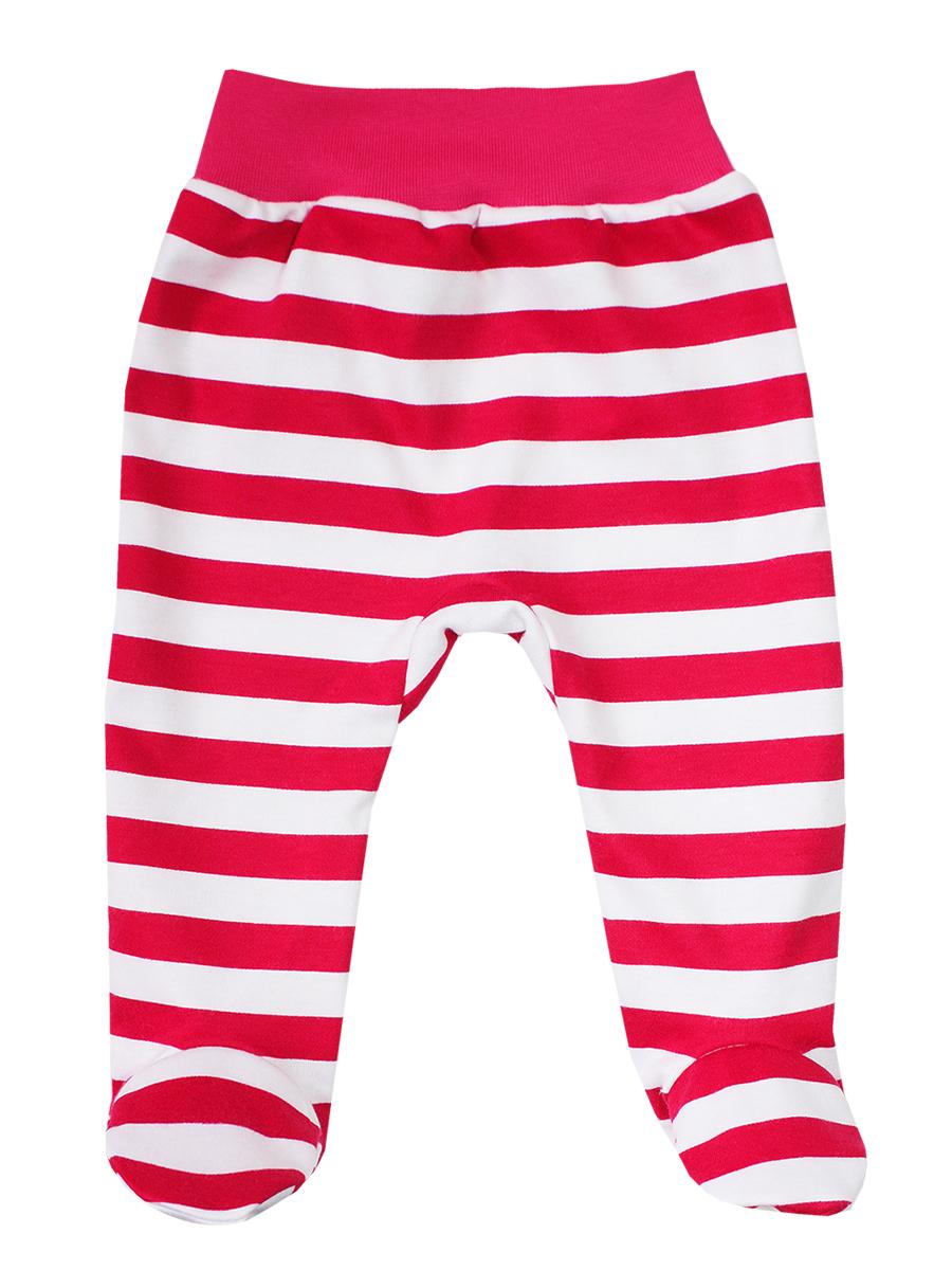 Ползунки5275Ползунки КотМарКот Новый год выполнены из натурального хлопка. Ползунки с закрытыми ножками на талии имеют эластичную резинку, благодаря чему не сдавливают животик ребенка и не сползают. Модель оформлена принтом в полоску.