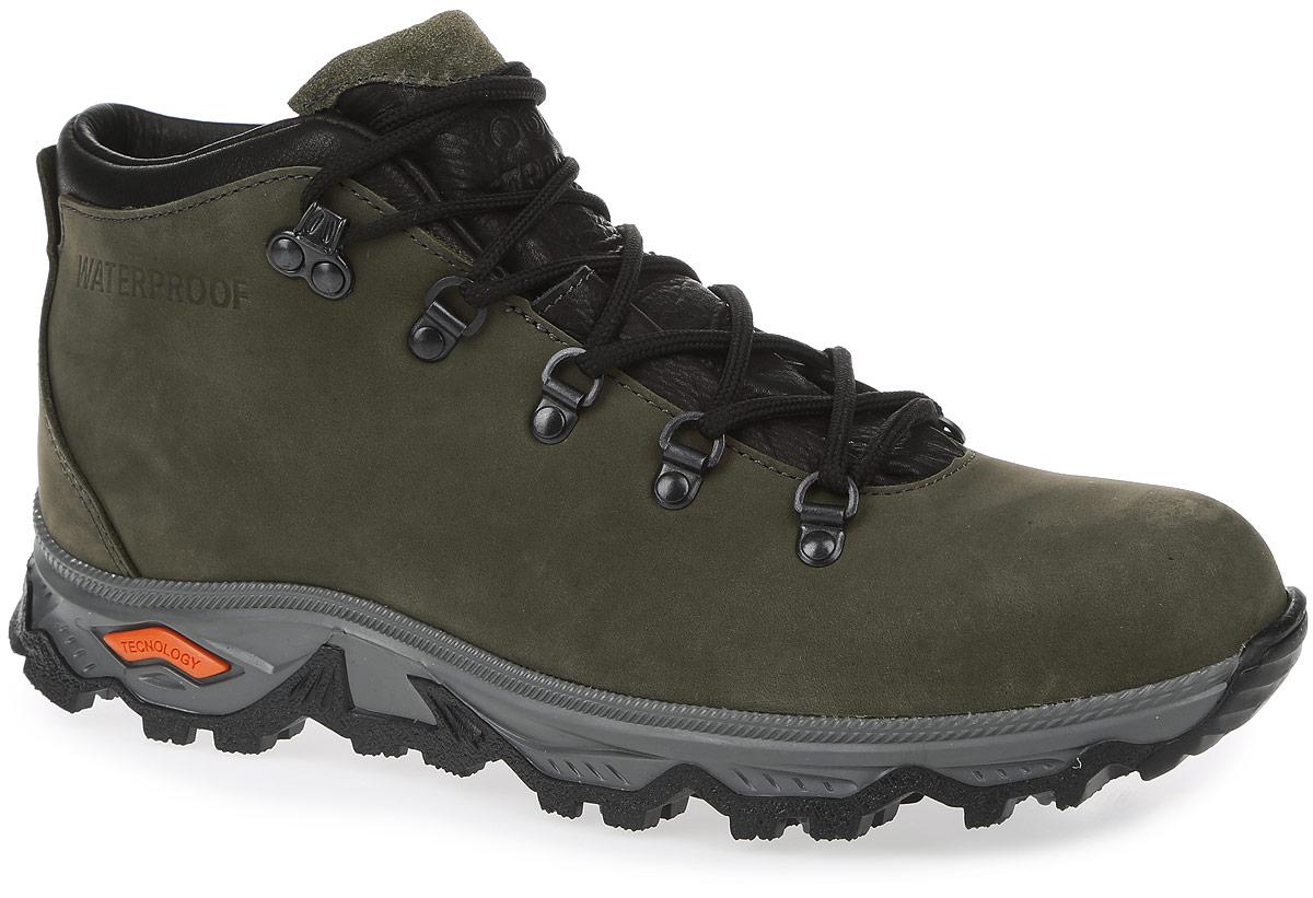 Ботинки мужские Strobbs, цвет: хаки. C201-19. Размер 42C201-19Стильные мужские ботинки Strobbs, выполненные в спортивном стиле, прекрасно подойдут для активного отдыха и повседневной носки. Верх модели изготовлен из нубука и имеет защиту от проникновения влаги. Прочная, гибкая подошва, поглощающая удары при ходьбе, обеспечивает максимальный комфорт в течение всего дня. Стелька с утеплителем создает оптимальный внутренний климат. Удобная шнуровка надежно фиксирует модель на стопе. Такие ботинки займут достойное место в вашем гардеробе.