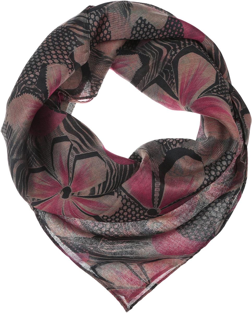 ПлатокYY-21682-15Элегантный женский платок Sophie Ramage изготовлен из высококачественной вискозы. Оформлена модель стильным цветочным принтом. Платок красиво драпируется, он превосходно дополнит любой наряд и подчеркнет ваш изысканный вкус.
