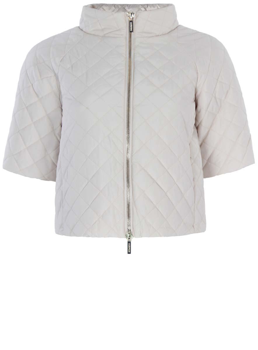 Куртка10207002/45419/3300NКуртка женская стеганая oodji Ultra исполнена из высококачественного полиэстера - износостойкого не мнущегося быстросохнущего материала. Подкладка так же исполнена из полиэстера, как и утеплитель. Изделие имеет рукава по локоть, воротник-стойку. Куртка имеет два кармана по бокам от талии и застегивается на молнию.