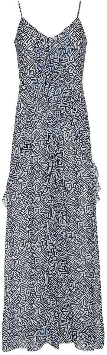 Платье11902155/17288/7912GПлатье oodji Ultra без рукавов изготовлено из качественного полиэстера. Модель с тонкими бретельками застегивается сзади на молнию и крючок. По всей длине платья проходят оригинальные пышные воланы. Модель дополнена подкладкой.