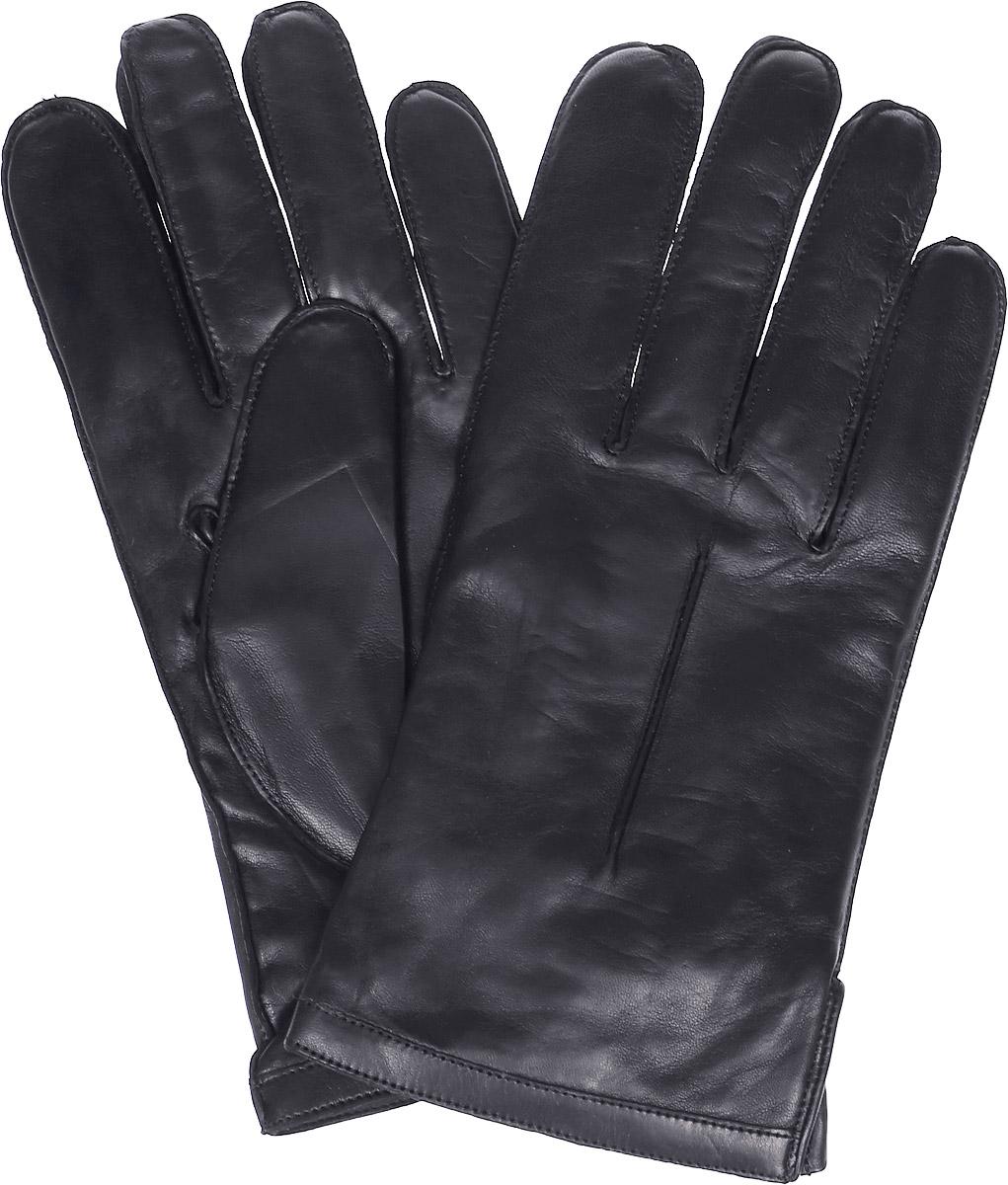 Перчатки мужские Michel Katana, цвет: черный. K12-NANCY. Размер 8,5K12-NANCY/BLМужские перчатки Michel Katana не только защитят ваши руки, но и станут великолепным украшением. Перчатки выполнены из натуральной кожи, а подкладка - из высококачественной шерсти. Модель оформлена декоративными прострочками.