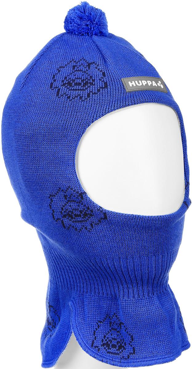 Шапка-шлем детская Huppa Kelda, цвет: синий. 85120000-60135. Размер 43/4585120000-60135Вязаная шапка-шлем Huppa Kelda выполнена из высококачественной пряжи из мериносовой шерсти и акрила. Подкладка выполнена из натурального хлопка и имеет комфортные плоские швы. Шейная часть шапки связана резинкой. В области ушей расположены утепленные вставки. Модель декорирована небольшим помпоном на макушке и дополнена светоотражающим лейблом с логотипом бренда.Уважаемые клиенты! Обращаем ваше внимание на тот факт, что размер, доступный для заказа, является обхватом головы.