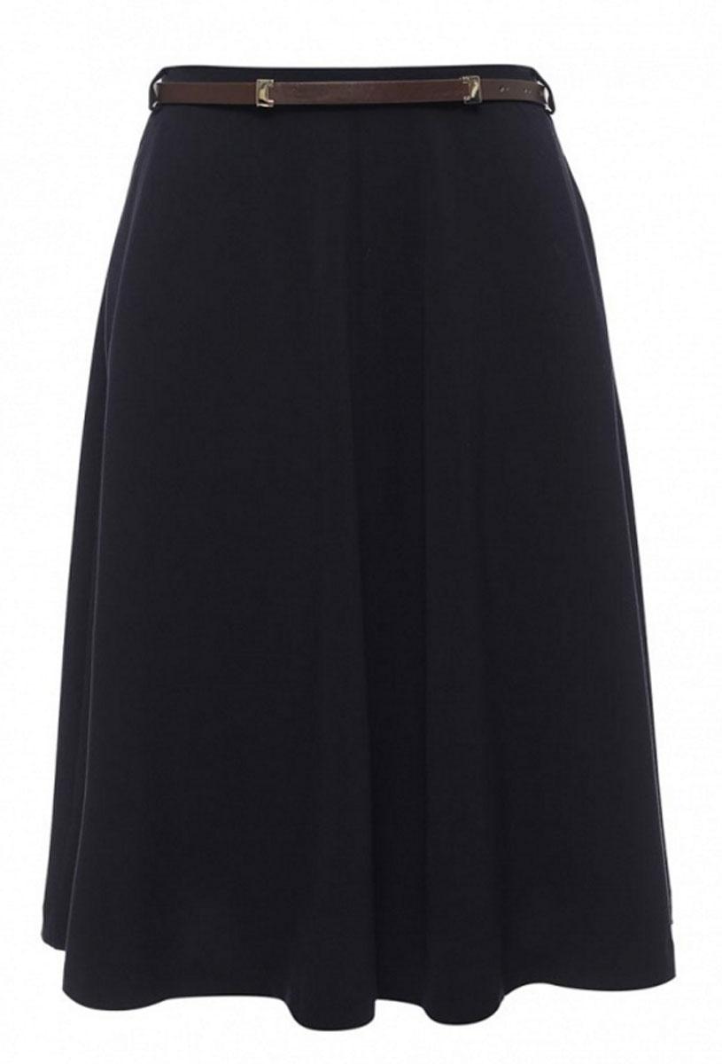 ЮбкаSK-118/861-7140Стильная женская юбка Sela Casual длины-миди выполнена из качественного комбинированного материала. Модель застегивается на боковую потайную застежку-молнию, имеются шлевки для ремня. Спереди юбка дополнена двумя втачными карманами. К юбке прилагается ремень из искусственной кожи.