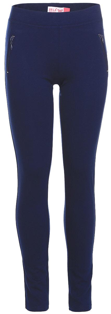 ЛеггинсыPk-615/498-7110Леггинсы для девочки выполнены из комбинированного эластичного материала. Модель на талии имеет широкую эластичную резинку. Спереди леггинсы оформлены имитацией двух прорезных карманов на застежках-молниях.