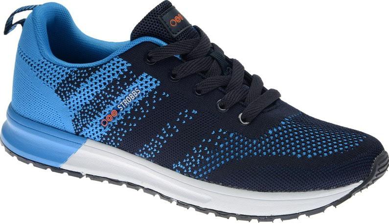 КроссовкиC2422-19Стильные мужские кроссовки Strobbs отлично подойдут для активного отдыха и повседневной носки. Верх модели выполнен из текстиля. Удобная шнуровка надежно фиксирует модель на стопе. Подошва обеспечивает легкость и естественную свободу движений. Мягкие и удобные, кроссовки превосходно подчеркнут ваш спортивный образ и подарят комфорт.