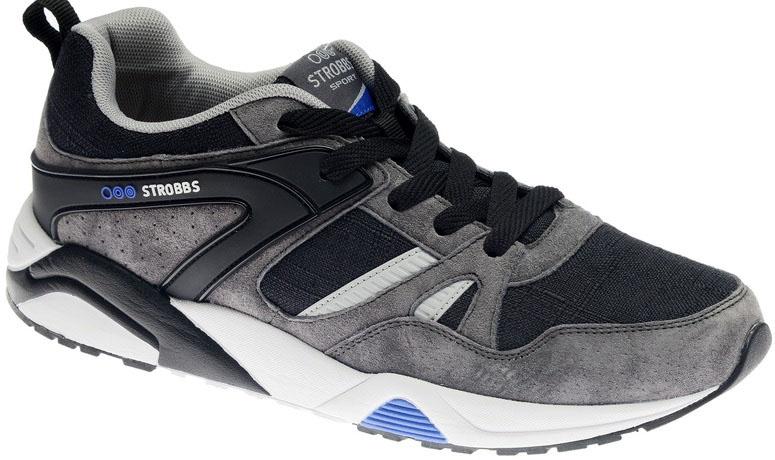 КроссовкиC2465-3Стильные мужские кроссовки Strobbs отлично подойдут для активного отдыха и повседневной носки. Верх модели выполнен из текстиля и натуральной замши. Удобная шнуровка надежно фиксирует модель на стопе. Подошва обеспечивает легкость и естественную свободу движений. Мягкие и удобные, кроссовки превосходно подчеркнут ваш спортивный образ и подарят комфорт.