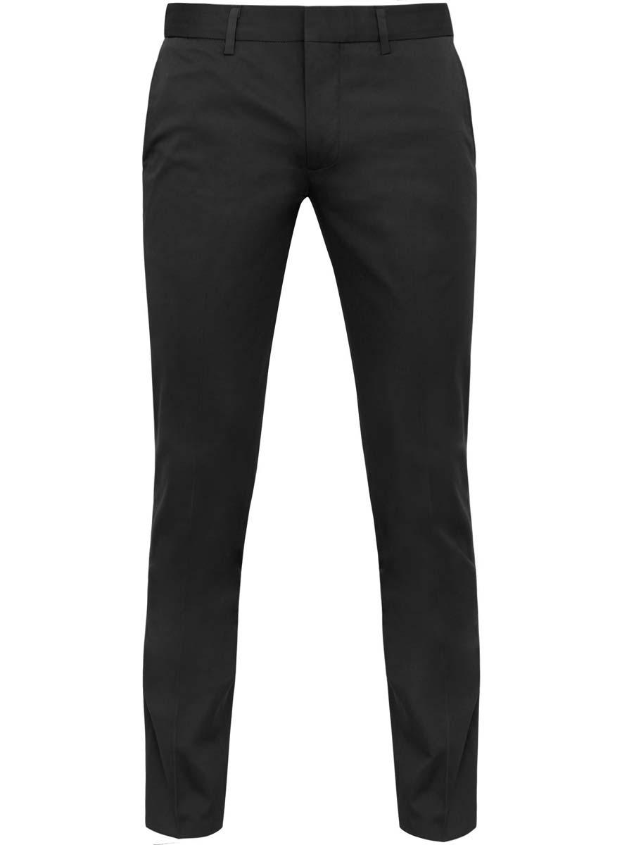Брюки2B210007M/23421N/7900NСтильные мужские брюки oodji Basic выполнены из хлопка с добавлением полиуретана. Модель-слим стандартной посадки застегивается на крючок в поясе и ширинку на застежке-молнии, с внутренней стороны - на пуговицу. Сзади пояс регулируется с помощью хлястиков с пуговицами и имеет шлевки для ремня. Спереди брюки дополнены двумя втачными карманами, сзади - двумя прорезными карманами.