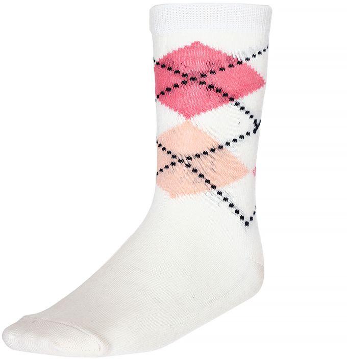Комплект носков330812-12Носки для девочки Baykar изготовлены из высококачественного эластичного хлопка с добавлением полиамида. Эластичная резинка в паголенке плотно облегает ногу, не сдавливая ее, обеспечивая комфорт и удобство. В комплект входят 2 пары носков.