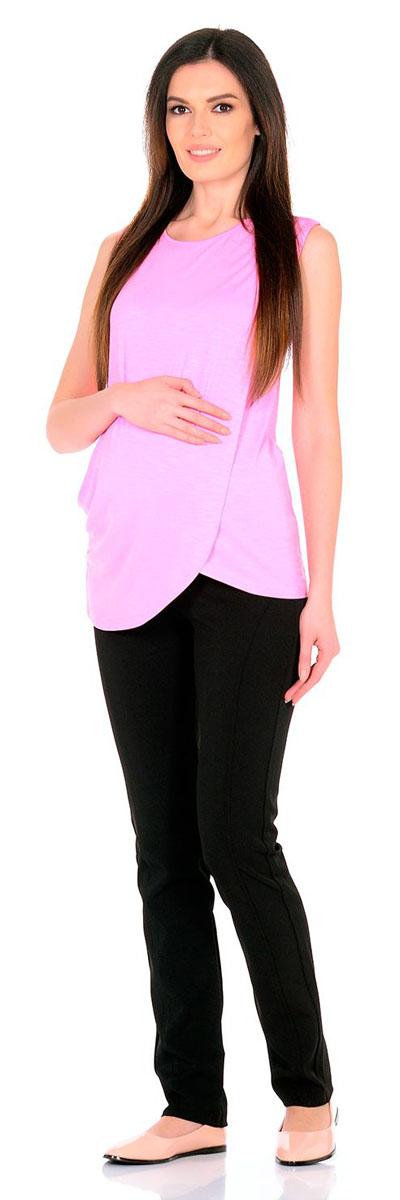 Блузка1322.06 N.V.Удобная, мягкая, элегантная блузка для беременных и кормящих Nuova Vita выполнена из высококачественного комбинированного материала. Очаровательная блузка станет стильным дополнением вашего образа.