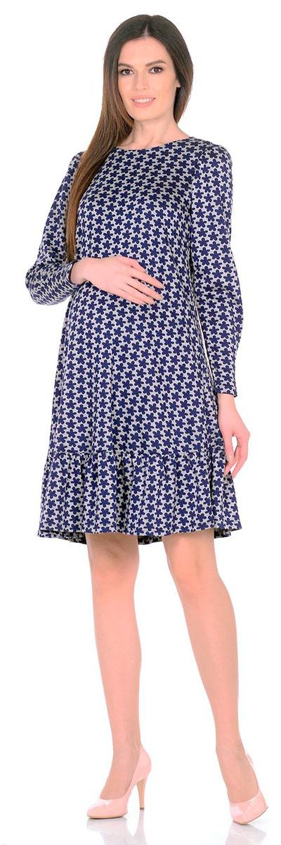 Платье2154.03 N.V.Платье Nuova Vita выполнено из вискозы, полиэстера и лайкры. Модель с круглым вырезом горловины застегивается на пуговицу.