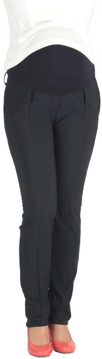 Брюки для беременных Mammy Size, цвет: темно-синий. 1820102173. Размер 421820102173Классические брюки Mammy Size выполнены из полиэстера и спандекса. Модель с удобной резинкой.
