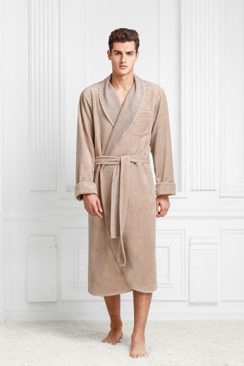 Халат9060117183Классический халат в теплой мягкой и легкой ткани. Максимально удобный. Цвета классические, глубокие, с интересным оттенком. Модель идеально подойдет приверженцам классики и консерватизма.