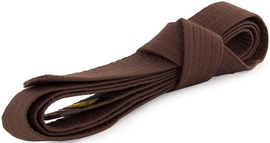 Пояс для кимоно Jabb, цвет: коричневый. JE-2783_339690. Размер 4 см х 260 смJE-2783_339690Пояс Jabb - универсальный пояс для кимоно. Пояс выполнен из плотного хлопкового материала с многорядной прострочкой.