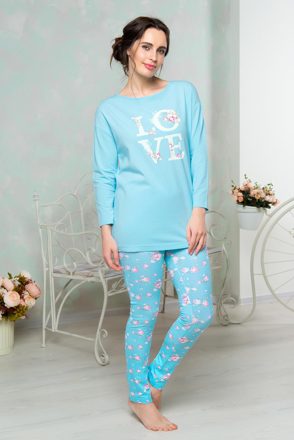 Домашний комплектAW16-MCUZ-853Комплект домашний одежды Mia Cara состоит из футболки с длинными рукавами и брюк. Модель выполнена из высококачественного хлопка с добавлением эластана. Футболка с круглой горловиной дополнена на спинке вырезом и завязками. Брюки оформлены цветочным принтом.