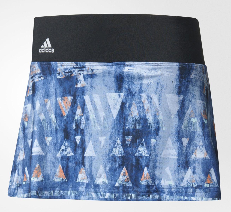 ЮбкаB45804Юбка для тенниса adidas Essex Tr Skirt исполнена из ткани с технологией climalite, идеальное влагоотведение.
