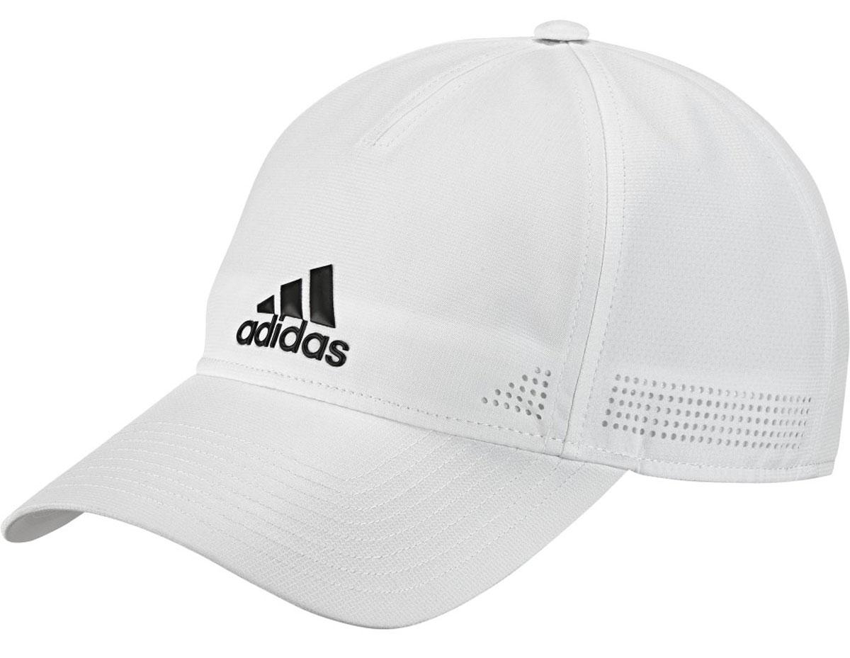 БейсболкаS97595Бейсболка adidas 6P Clmco Cap выполнена из 100% полиэстера. Модель оформлена логотипом бренда.