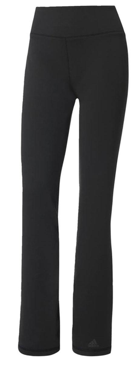 Брюки спортивныеBP8823Брюки спортивные женские adidas D2M Pant, выполнены из полиэстера и эластана. Дышащая ткань с технологией climalite эффективно отводит излишки влаги, обеспечивая свежесть и мотивируя достигать впечатляющих результатов.