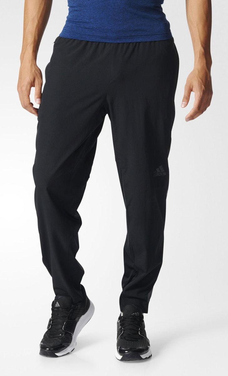 Брюки спортивныеBK0977Брюки спортивные мужские adidas Workout Pant Wv выполнены из 100% полиэстера. Эти мужские брюки обеспечат свежесть в течение всей тренировки. Вентиляция climacool и сетчатая подкладка для безупречного комфорта. В карманы на молнии можно положить ключи и мелкие вещи. Технология climacool сохраняет приятные ощущения прохлады и свежести благодаря специальным сетчатым вставкам.