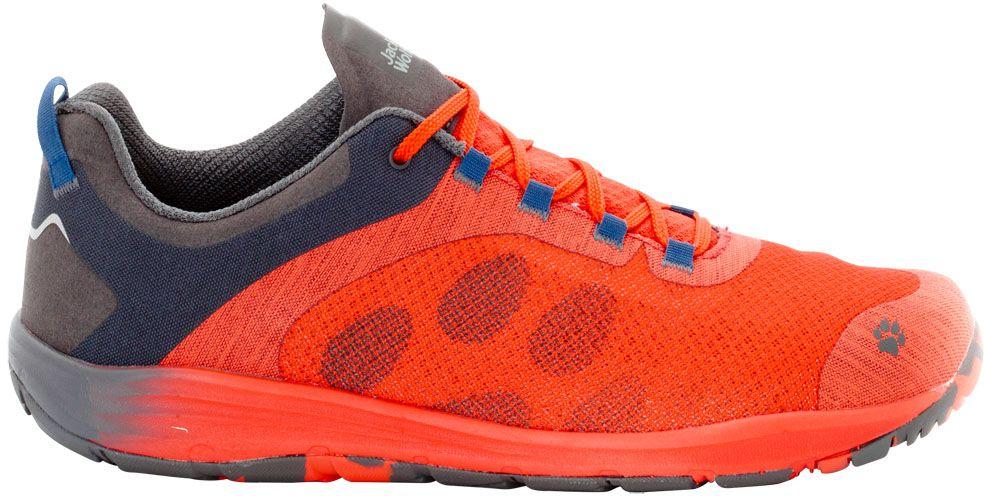 Кроссовки4023491-2424Кроссовки мужские от Jack Wolfskin - легкие и хорошо проветриваемые кроссовки для путешествий и отдыха с комфортной посадкой по ноге.