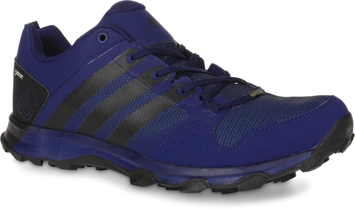 Кроссовки трекинговые мужские adidas Kanadia 7 Tr Gtx, цвет: темно-синий, черный. BB5429. Размер 10,5 (44)BB5429Кроссовки трекинговые adidas Kanadia 7 Tr Gtx выполнены из искусственной кожи и текстиля. Модель оформлена фирменными накладками. Шнурки надежно зафиксируют модель на ноге. Ярлычок на заднике упростит надевание модели. Внутренняя поверхность из сетчатого текстиля комфортна при движении. Стелька выполнена из легкого ЭВА-материала с поверхностью из текстиля. Подошва изготовлена из высококачественной резины и дополнена протектором.