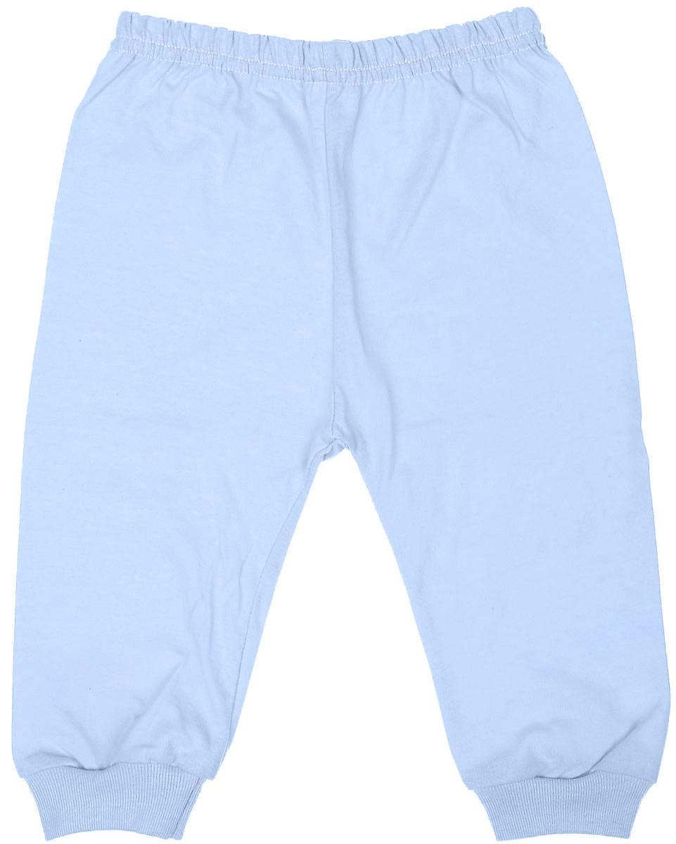 Штанишки детские Чудесные одежки, цвет: голубой. 5305. Размер 805305Детские штанишки Чудесные одежки выполнены из натурального хлопка, благодаря чему великолепно пропускают воздух и обеспечивают комфорт и удобство, не раздражая нежную детскую кожу. Модель стандартной посадки дополнена эластичной резинкой на талии. Брючины оснащены широкими трикотажными манжетами по низу.