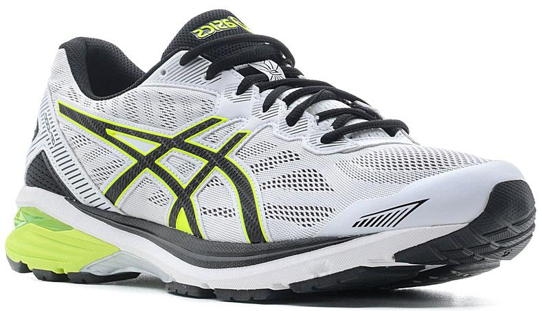 Кроссовки для бега мужские Asics GT-1000 5, цвет: светло-серый, желтый. T6A3N-0107. Размер 8H (40,5)T6A3N-0107Запланируйте свой следующий полумарафон и готовьтесь к нему в мужских беговых кроссовках GT-1000 5. Поддержка, комфорт и амортизация — все это есть в обуви, которая поможет вам дойти до финиша и подготовиться к следующей дистанции. Кроссовки GT-1000 ощущаются как продолжение вашего тела. Верх модели выполнен из дышащего текстиля, что обеспечивает отличную вентиляцию. За счет уменьшения количества слоев верх идеально облегает стопу и ощущается как вторая кожа. Классическая шнуровка надежно зафиксирует изделие на ноге. Технология стабилизации препятствует подворачиванию стопы с самого начала забега, помогая вам повысить выносливость и сохранить темп. Каждое приземление станет мягче благодаря амортизации GEL в передней и задней части. Стопа находится под контролем с момента касания земли и до самого толчка. Вы получите необходимую поддержку для комфортного преодоления длинных дистанций.