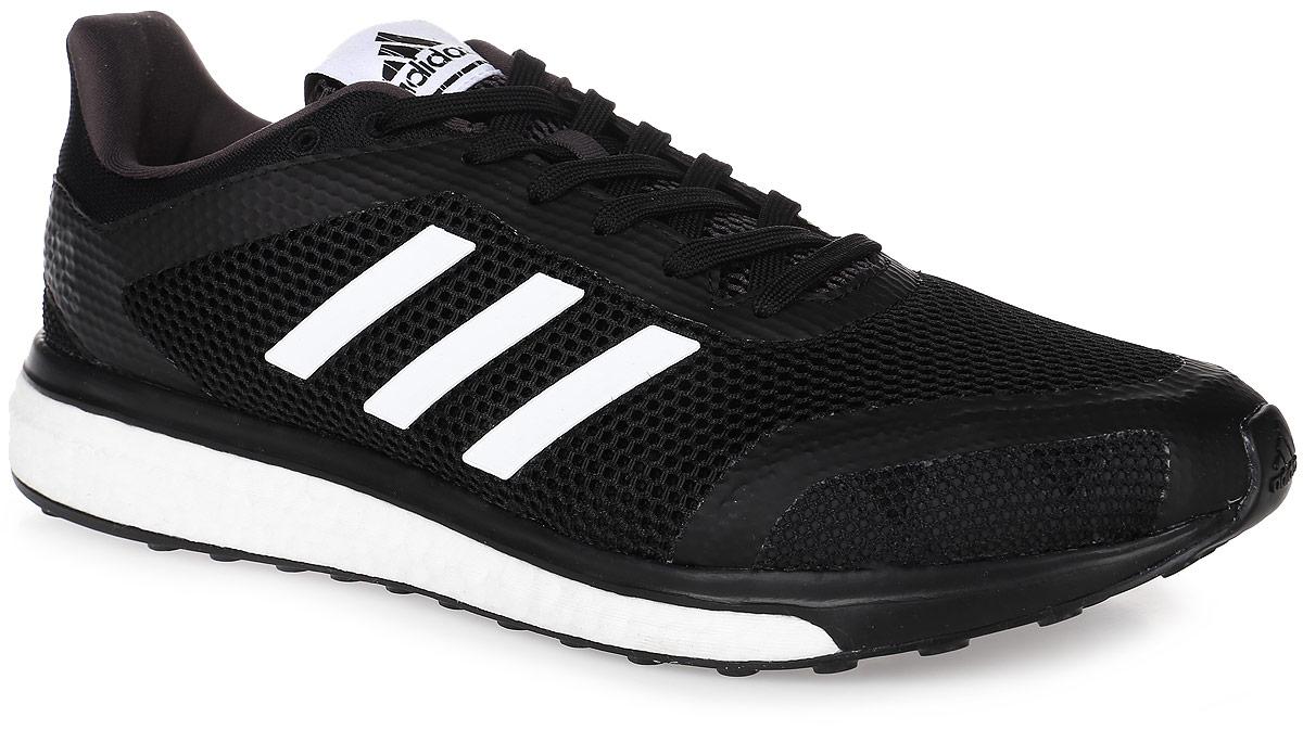 Кроссовки для бега мужские adidas Performance Response + M, цвет: черный, белый. BB2982. Размер 11,5 (45)BB2982Мужские кроссовки для бега adidas Performance Response + M выполнены из текстиля и оформлены фирменными накладками из полимера. Шнурки надежно зафиксируют модель на ноге. Внутренняя поверхность из сетчатого текстиля комфортна при движении. Стелька выполнена из легкого ЭВА-материала с поверхностью из текстиля.Подошва изготовлена из высококачественной легкой резины и дополнена рельефным рисунком.