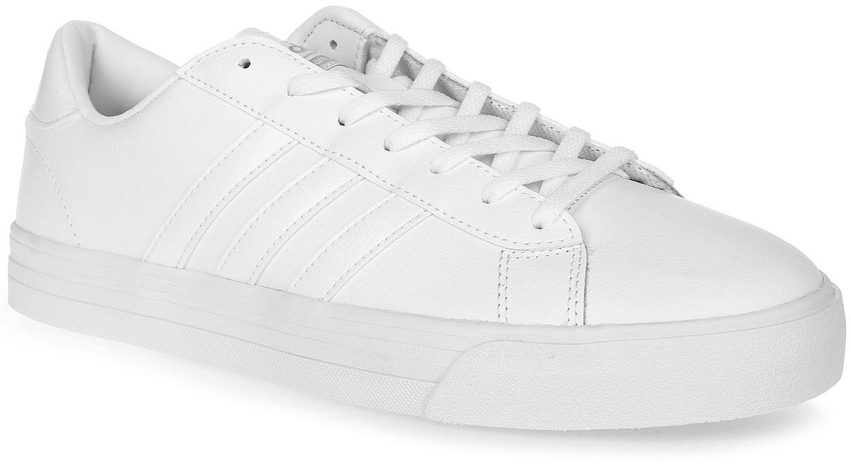 Кроссовки мужские adidas Neo Cloudfoam Super Daily, цвет: белый. AW3903. Размер 7,5 (40)AW3903Мужские кроссовки adidas Neo Cloudfoam Super Daily, выполненные из натуральной и искусственной кожи, оформлены фирменными нашивками и надписями. Шнурки надежно зафиксируют модель на ноге. Внутренняя поверхность из натуральной кожи и текстиля комфортны при движении. Стелька выполнена из легкого ЭВА-материала с поверхностью из текстиля и оснащена технологией Cloudfoam Memory, благодаря которой стелька плотно прилегает к стопе, обеспечивая безупречный комфорт. Подошва Cloudfoam Super с ультрамягкими вставками изготовлена из высококачественной резины и дополнена рельефным рисунком.