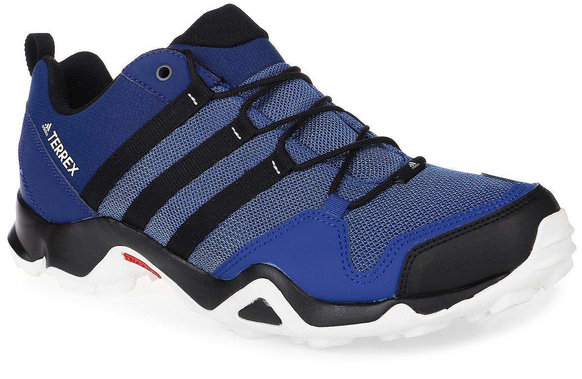 Кроссовки мужские трекинговые adidas Terrex Ax2R, цвет: темно-синий, синий, черный. BB1980. Размер 9 (42)BB1980Мужские трекинговые кроссовки adidas Terrex Ax2R выполнены из текстиля и искусственной кожи. Модель оформлена фирменными нашивками и принтом. Шнурки надежно зафиксируют модель на ноге. Ярлычок на заднике упростит надевание модели. Внутренняя поверхность из сетчатого текстиля комфортна при движении. Стелька выполнена из легкого ЭВА-материала с поверхностью из текстиля.Подошва изготовлена из высококачественной резины и дополнена протектором.