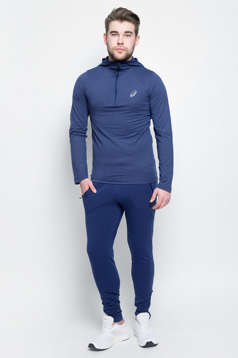 Брюки спортивные141082-0934Спортивные мужские брюки Asics Knit Train Pant выполнены из эластичного хлопка с добавлением полиэстера. Модель-скинни плотно прилегает к телу и великолепно тянется, обеспечивая комфорт во время тренировок. Изделие имеет широкую эластичную резинку на поясе, объем талии регулируется при помощи внутреннего шнурка-кулиски. Брюки дополнены двумя втачными карманами на застежках-молниях спереди, а также оснащены застежками-молниями по низу брючин.