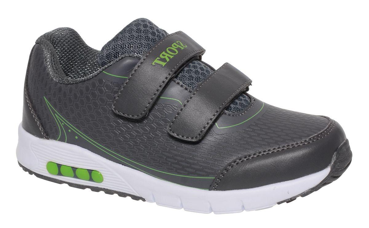 Кроссовки для мальчика BiKi, цвет: темно-серый. A-B86-11-B. Размер 36A-B86-11-BКроссовки от фирмы BiKi выполнены из искусственной кожи с фактурным тиснением. Застежки-липучки обеспечивают надежную фиксацию обуви на ноге ребенка. Подкладка выполнена из текстиля и натуральной кожи, что предотвращает натирание и гарантирует уют. Подошва с рифлением обеспечивает идеальное сцепление с любыми поверхностями. Стильные и удобные кроссовки - незаменимая вещь в гардеробе каждого школьника.