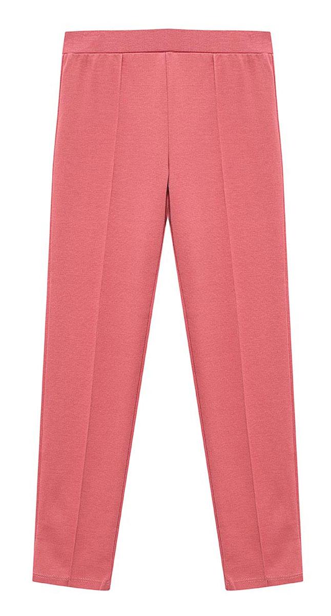 БрюкиPk-515/147-7110Стильные брюки для девочки Sela станут отличным дополнением к гардеробу юной модницы. Брюки зауженного кроя выполнены из качественного трикотажного материала и имеют широкий пояс на мягкой резинке.