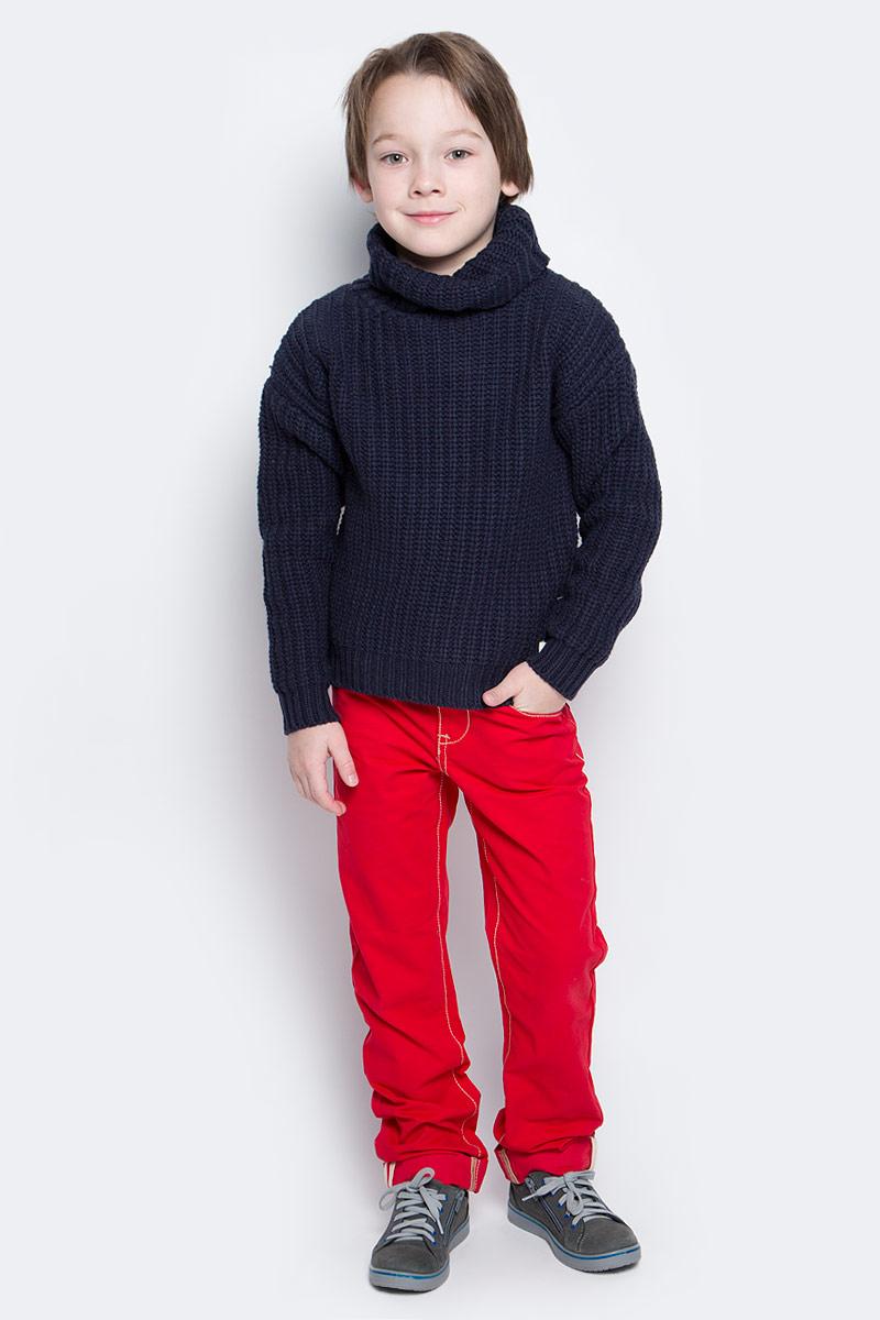 Свитер216BBBC33011000Детский свитер от Button Blue - достойное и выгодное приобретение. Спущенное плечо, свободный силуэт делают свитер оригинальным и ярким. Прекрасный состав пряжи гарантирует уют и комфорт.