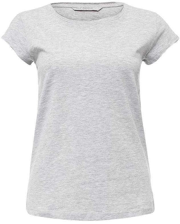 ФутболкаTs-111/1221-7181Оригинальная женская футболка Sela станет отличным дополнением к гардеробу каждой модницы. Модель полуприлегающего силуэта с круглым вырезом горловины и короткими рукавами изготовлена из натурального хлопка. Воротник дополнен мягкой эластичной бейкой с необработанными краями. Универсальный цвет позволяет сочетать модель с любой одеждой.