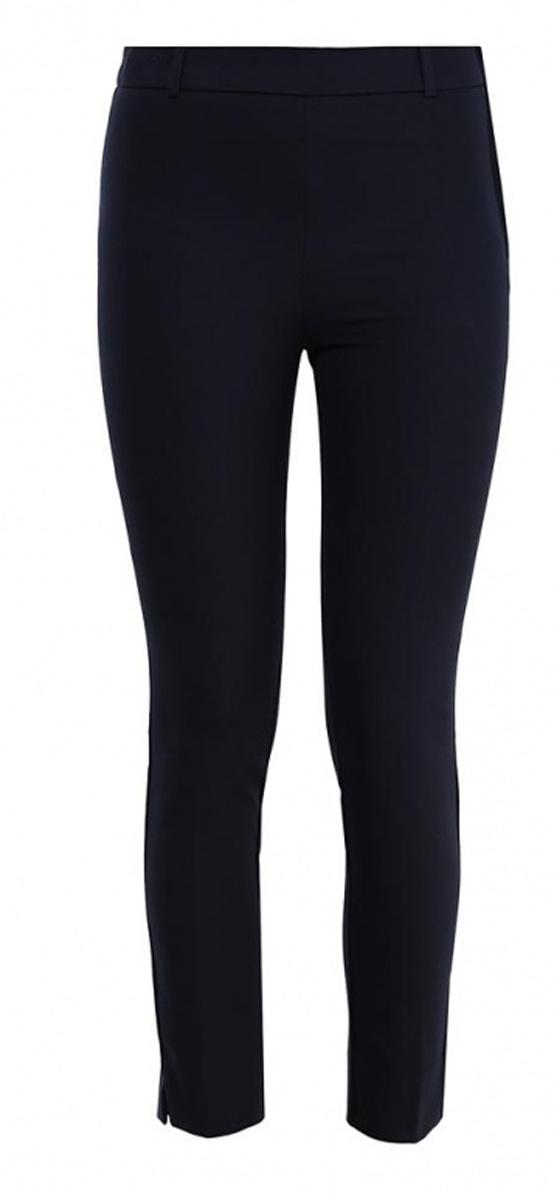БрюкиP-115/806-7131Стильные укороченные брюки Sela, изготовленные из качественного материала, станут отличным дополнением вашего гардероба. Брюки зауженного кроя и стандартной посадки на талии застегиваются сбоку на скрытую планкой молнию. На поясе имеются шлевки для ремня. Модель дополнена двумя прорезными карманами сзади.