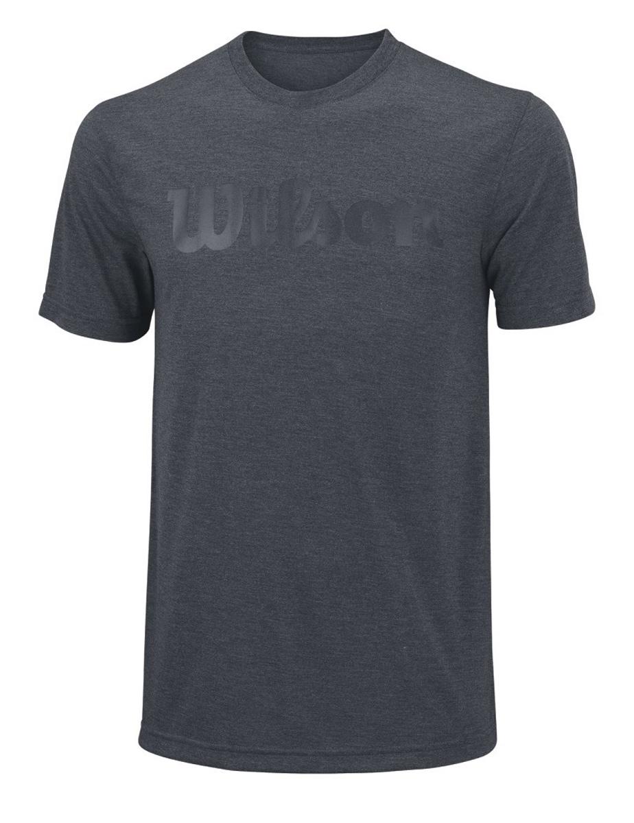 ФутболкаWRA758501Тренировочная футболка с логотипом Wilson. Спортивный крой и уникальная текстура футболки с технологией отвода влаги nanoWIK для оптимального комфорта. Модель выполнена с круглой горловиной и короткими рукавами.