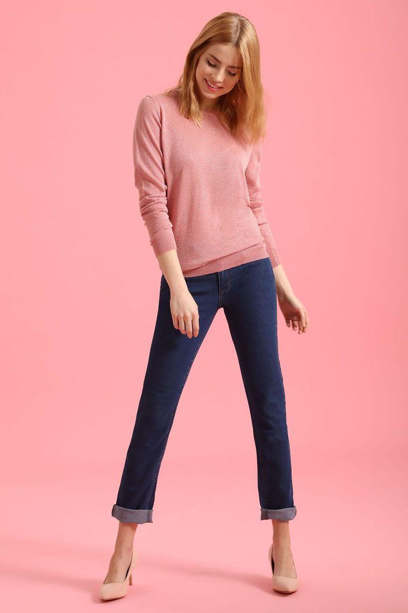 Брюки женские Top Secret, цвет: синий. SSP2456NI. Размер 40 (48)SSP2456NIСтильные женские брюки Top Secret - брюки высочайшего качества на каждый день, которые прекрасно сидят. Модель изготовлена из высококачественного комбинированного материала. Эти модные и в тоже время комфортные брюки послужат отличным дополнением к вашему гардеробу. В них вы всегда будете чувствовать себя уютно и комфортно.