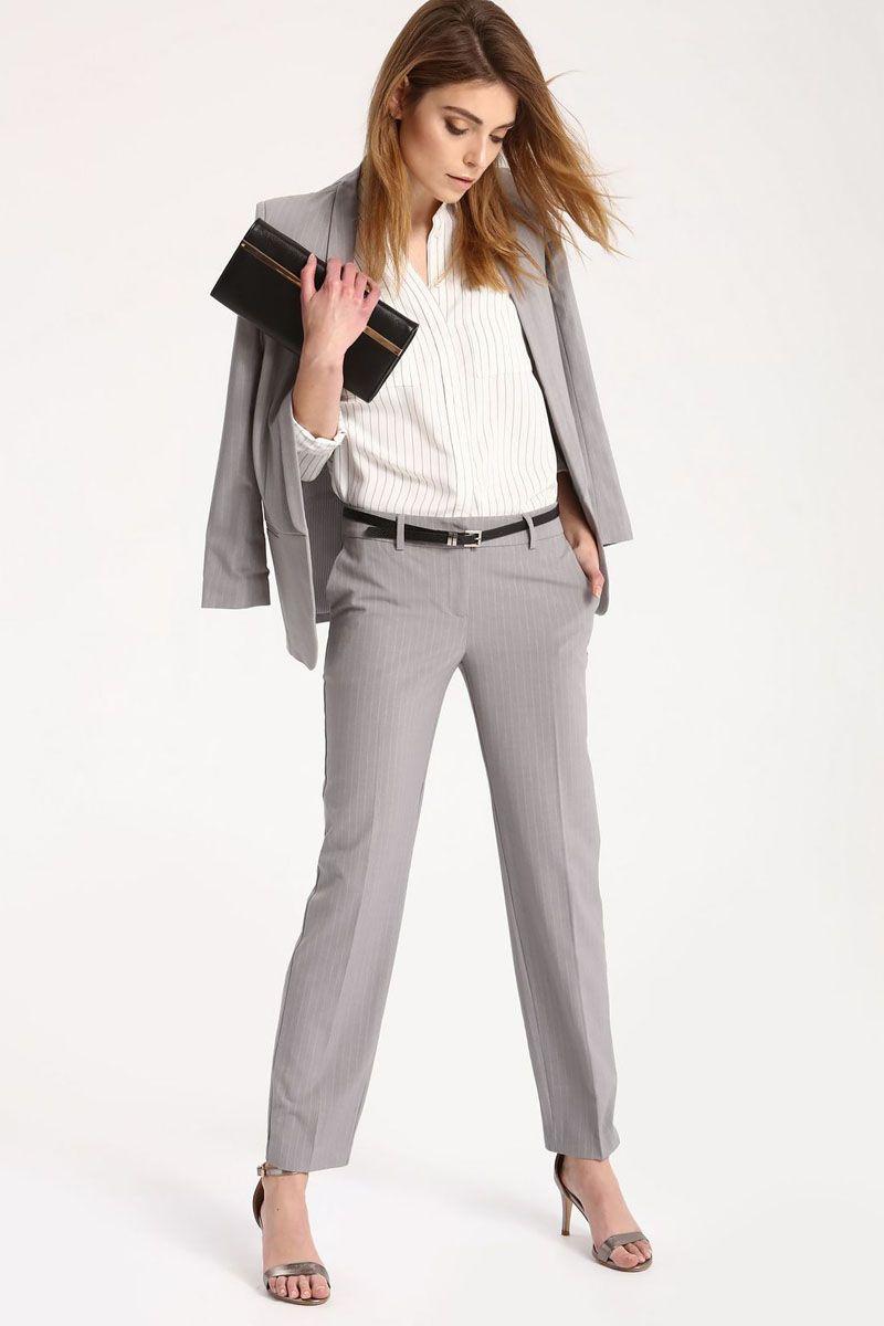 Брюки женские Top Secret, цвет: светло-серый. SSP2429GB. Размер 36 (44)SSP2429GBСтильные женские брюки Top Secret - брюки высочайшего качества на каждый день, которые прекрасно сидят. Модель изготовлена из высококачественного комбинированного материала. Эти модные и в тоже время комфортные брюки послужат отличным дополнением к вашему гардеробу. В них вы всегда будете чувствовать себя уютно и комфортно.
