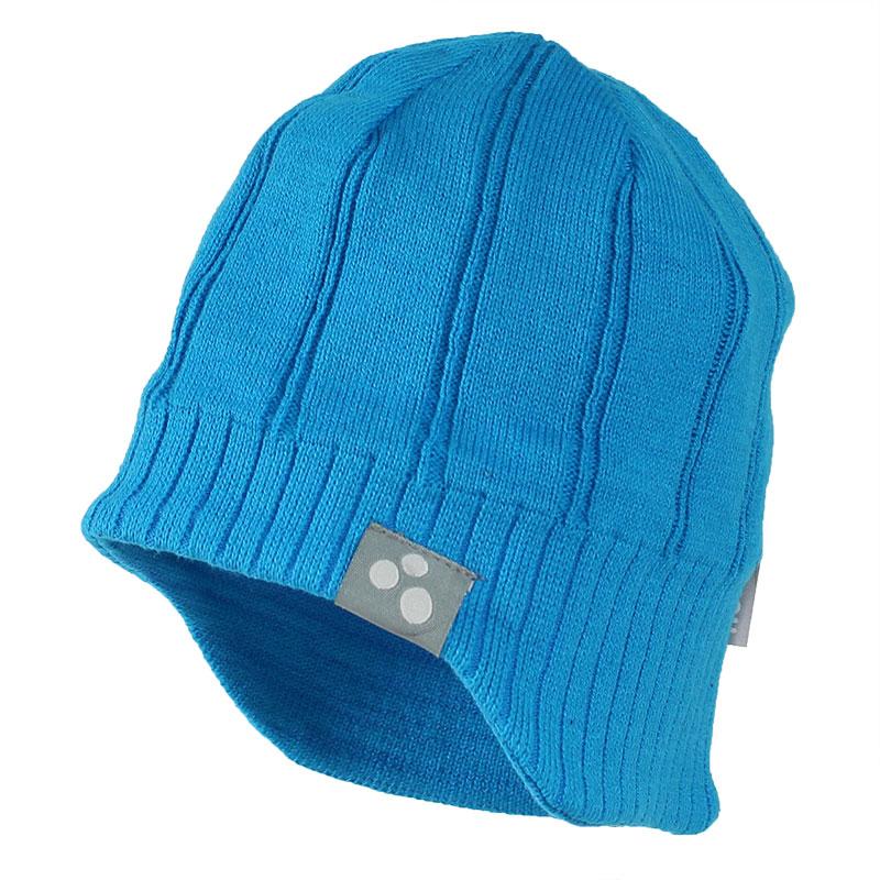 Шапка для мальчика Huppa Jarrod 1, цвет: голубой. 80060100-70046. Размер XL (57/59)80060100-70046Теплая вязаная шапочка Huppa Jarrod согреет вашего ребенка в прохладную погоду. Шапочка связана из натурального хлопка с добавлением акрила.
