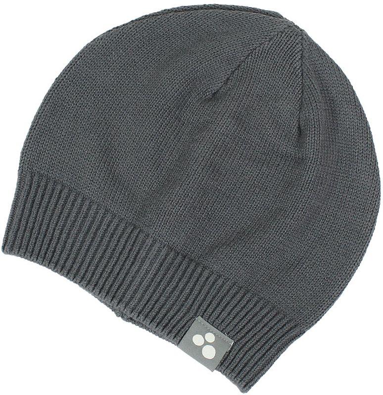 Шапка для мальчика Huppa Boris, цвет: серый. 80090000-70048. Размер M (51/53)80090000-70048Теплая вязаная шапочка Huppa Boris согреет вашего ребенка в прохладную погоду. Шапочка изготовлена из натурального хлопка и акрила.