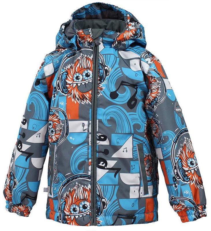 Куртка для мальчика Huppa Jody, цвет: голубой, серый, оранжевый. 17000004-73146. Размер 13417000004-73146Куртка с подкладкой для мальчика Huppa c длинными рукавами, воротником-стойкой и съемным капюшоном, выполнена из высококачественного водонепроницаемого и ветрозащитного материала на основе полиэстера. Модель застегивается на застежку-молнию с защитой подбородка спереди. Изделие имеет два прорезных кармана на застежках-молниях. Манжеты рукавов собраны на внутренние резинки. Модель оформлена оригинальным контрастным принтом. На изделии имеются светоотражательные элементы для безопасности в темное время суток.