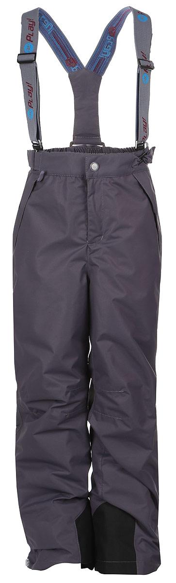 Брюки утепленные3pt718Удобные и функциональные детские брюки atPlay! идеально подойдут вашему ребенку в прохладное время года. Верх изделия изготовлен из качественного полиэстера, с покрытием Teflon от DuPont, которое облегчает уход за этой одеждой. Дышащая способность: 5000г/м и водонепроницаемость брюк: 5000мм, также они имеют водо- и грязеотталкивающую пропитку. Подкладка выполнена из ворсового полотна, гладкой стороной к ноге, чтобы нога скользила в брючине. Удобные и функциональные брюки прямого покроя застегиваются на кнопку и липучку в поясе, а также имеют ширинку на застежке-молнии. Сзади на поясе предусмотрена широкая резинка и по бокам пришиты дополнительные хлястики на липучках. Съемные эластичные наплечные лямки регулируются по длине и крепятся к поясу. Спереди находятся два втачных кармашка на застежках-молниях. Низ брюк укреплен специальной вкладкой, стойкой к износу и оформлен боковыми застежками-молниями с клапанами на кнопках. Подкладка по низу брючин...