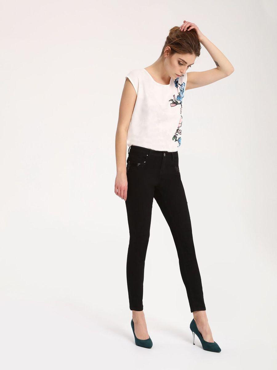 БрюкиSSP2460CAСтильные женские брюки Top Secret - брюки высочайшего качества на каждый день, которые прекрасно сидят. Модель изготовлена из высококачественного полиэстера, хлопка и эластана. Эти модные и в тоже время комфортные брюки послужат отличным дополнением к вашему гардеробу. В них вы всегда будете чувствовать себя уютно и комфортно.