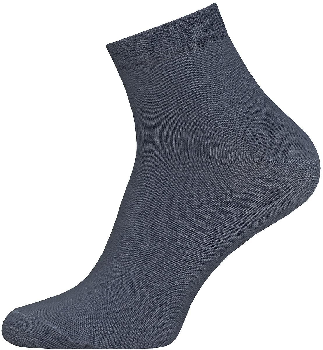 Носки14С2124/000Мужские гладкие носки Брестские Classic изготовлены из хлопка с добавлением полиэстера и эластана. На модели предусмотрен укороченный двойной борт. Носки хорошо держат форму и обладают повышенной воздухопроницаемостью, имеют усиленные пятку и мысок для повышенной износостойкости.