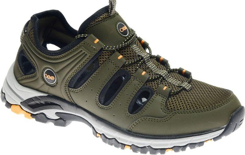 Кроссовки мужские Strobbs, цвет: хаки. C2473-19. Размер 41C2473-19Стильные мужские кроссовки Strobbs отлично подойдут для активного отдыха и повседневной носки. Верх модели выполнен из текстиля и искусственной кожи. Удобная шнуровка надежно фиксирует модель на стопе. Толстая, протекторная подошва позволяет комфортно ощущать себя на каменистой поверхности. Промежуточный слой подошвы выполнен из ЭВА-материала, что позволяет снизить вес обуви.