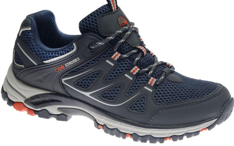 КроссовкиC2447-1Стильные мужские кроссовки Strobbs отлично подойдут для активного отдыха и повседневной носки. Верх модели выполнен из микрофибры и искусственной кожи. Удобная шнуровка надежно фиксирует модель на стопе. Толстая, протекторная подошва позволяет комфортно ощущать себя на каменистой поверхности. Промежуточный слой подошвы выполнен из ЭВА-материала, что позволяет снизить вес обуви.
