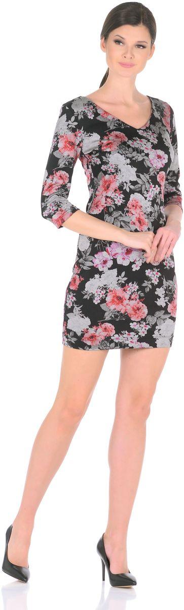 Платье3194-Р1Трикотажное платье от Rosa Blanco - неброский шик для женственного повседневного образа. Мягкий трикотаж плавно облегает фигуру, виртуозно демонстрируя изящный силуэт. В области груди вытачки для оптимальной посадки по фигуре. V-образный вырез придает модели особый шарм, привнося в ее лаконичный дизайн дерзкие нотки. Искусно объединяя невероятный комфорт и элегантность - это платье с легкостью превратится в Вашего фаворита, в нем Вы всегда будете выглядеть непревзойденно! Рукава ?. Длина изделия 90,5-95 см. Состав ткани: 67% вискоза, 25% полиэстер, 8% эластан. Рост модели на фото 170 см (+ каблук).