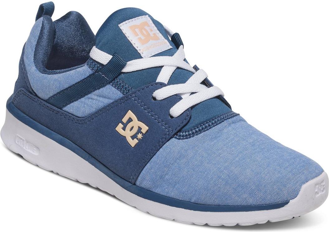 Кроссовки женские DC Shoes Heathrow SE, цвет: синий. ADJS700022-NWH. Размер 6B (37)ADJS700022-NWHСтильные женские кроссовки DC Shoes Heathrow SE - отличный вариант на каждый день.Модель выполнена из текстиля. Шнуровка надежно фиксирует обувь на ноге. Резиновая подошва с протектором гарантирует отличное сцепление с поверхностью. В таких кроссовках вашим ногам будет комфортно и уютно.