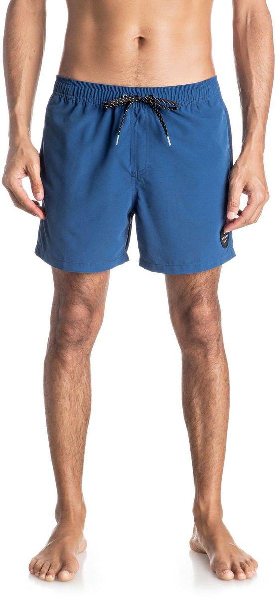 Шорты мужские Quiksilver, цвет: синий. EQYJV03200-BSW0. Размер M (48)EQYJV03200-BSW0Шорты мужские Quiksilver изготовлены из качественного полиэстера. Модель длиной выше колен выполнена с резинкой и утягивающим шнурком на талии. Изделие дополнено карманами.
